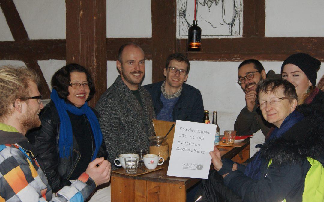 Radverkehr: Grün-Linke Hochschulgruppe stellt Forderungen an den Stadtrat