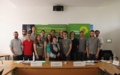 Vernetzung der Campusgrün-Mitgliedsgruppen im bayerischen Landtag