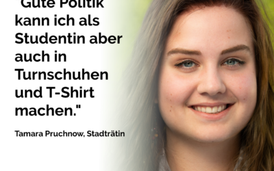 Tamara Pruchnow, Stadträtin